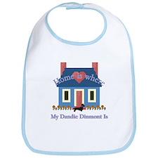 Dandie Dinmont Home Bib