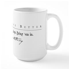 DDB Text Tee Mug