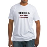100 Percent Aircraft Engineer Fitted T-Shirt