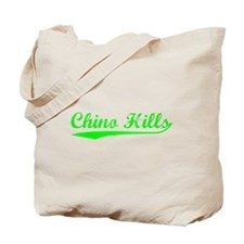 Vintage Chino Hills (Green) Tote Bag