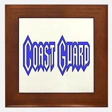 Coast Guard Framed Tile