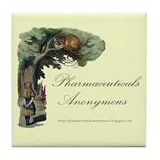 Pharmaceuticals Anonymous Tile Coaster