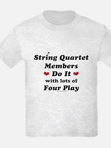 String Quartet Four Play T-Shirt