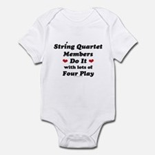 String Quartet Four Play Infant Bodysuit