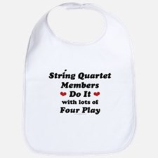 String Quartet Four Play Bib