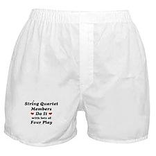 String Quartet Four Play Boxer Shorts