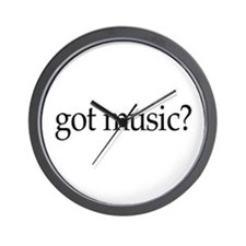 got music? Wall Clock