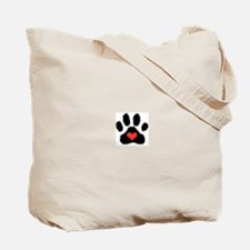 Lil' Pieces of Heaven Westie Tote Bag