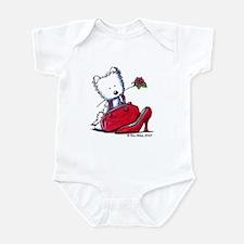 Lil' Pieces of Heaven Westie Infant Bodysuit