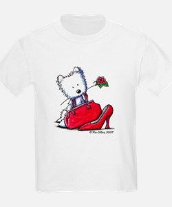 Lil' Pieces of Heaven Westie Kids T-Shirt