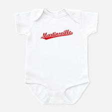 Retro Martinsville (Red) Infant Bodysuit
