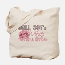 Drill SGT's Wifey Tote Bag