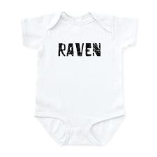 Raven Faded (Black) Infant Bodysuit