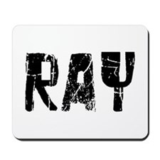 Ray Faded (Black) Mousepad