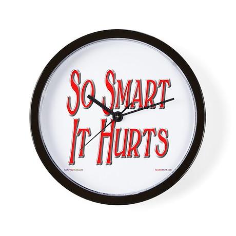 So Smart It Hurts Wall Clock