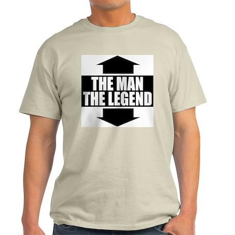 The Man The Legend Ash Grey T-Shirt