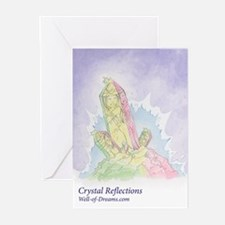 Crystal Reflections Greeting Cards (Pk of 10)