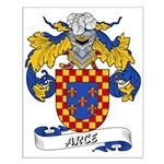 Arce Family Crest Small Poster