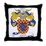 Arce Family Crest Throw Pillow