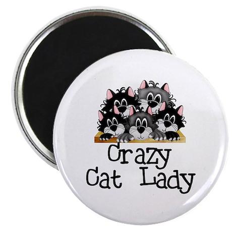 "Crazy Cat Lady 2.25"" Magnet (10 pack)"