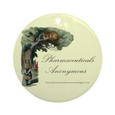 Pharmaceuticals Anonymous Ornament (Round)