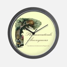 Pharmaceuticals Anonymous Wall Clock
