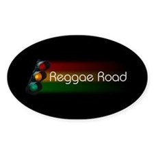 Reggae Road Logo Oval Decal