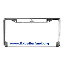 Exceller Logo License Plate Frame