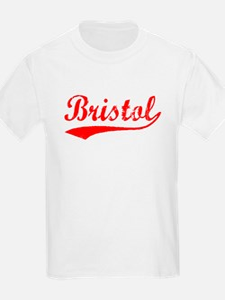 Vintage Bristol (Red) T-Shirt