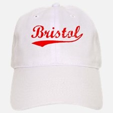 Vintage Bristol (Red) Baseball Baseball Cap