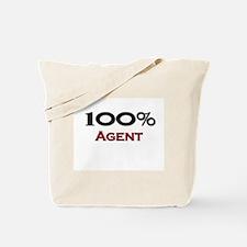 100 Percent Agent Tote Bag