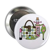 """Bags and Heels 2.25"""" Button (10 pack)"""
