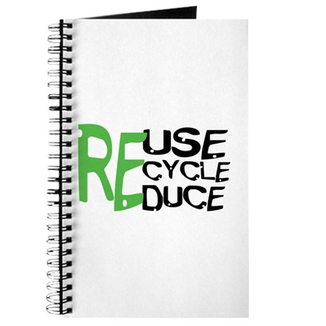 Reuse Recycle Reduce Journal