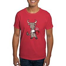 Bull Coffee Cup T-Shirt