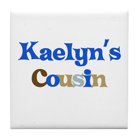 Kaelyn's Cousin Tile Coaster