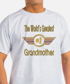 Number 1 Grandmother T-Shirt