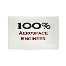 100 Percent Aerospace Engineer Rectangle Magnet