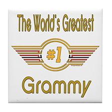 Number 1 Grammy Tile Coaster