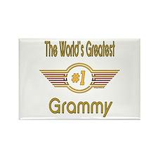 Number 1 Grammy Rectangle Magnet
