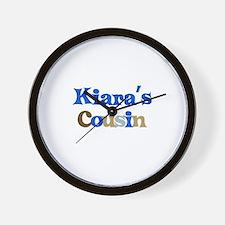 Kiara's Cousin Wall Clock