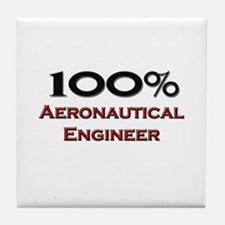 100 Percent Aeronautical Engineer Tile Coaster