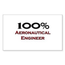 100 Percent Aeronautical Engineer Decal