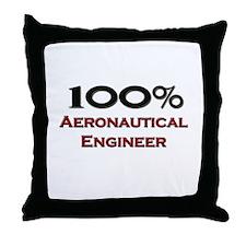 100 Percent Aeronautical Engineer Throw Pillow