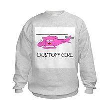 UH-1 Dustoff Girl Sweatshirt