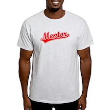Retro Mentor (Red) T-Shirt