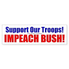 """Impeachment"" Bumper Bumper Sticker"