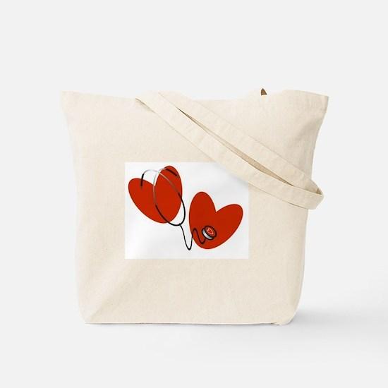 Nurse-Be Nice to Me Tote Bag