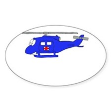 UH-1 Blue Oval Decal