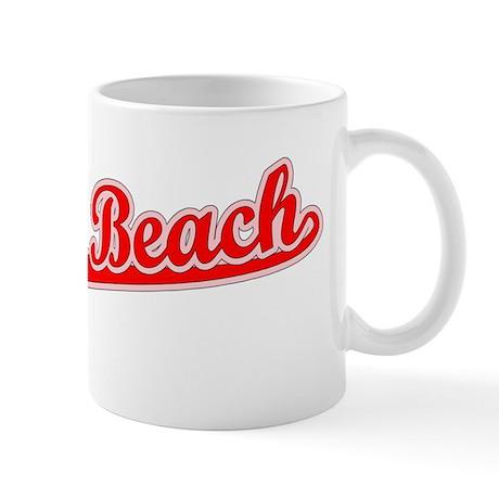 Retro Miami Beach (Red) Mug