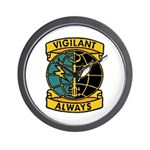 Vigilant Always Wall Clock